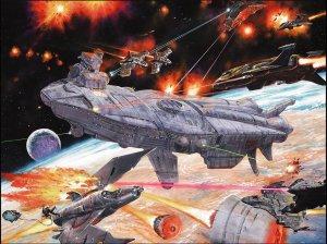 space battle Wallpaper__yvt2